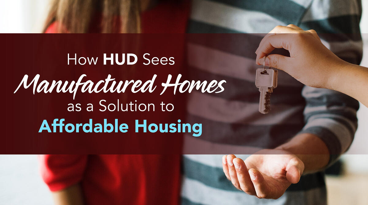 Manufactured Homes as a Solution to Affordable Housing