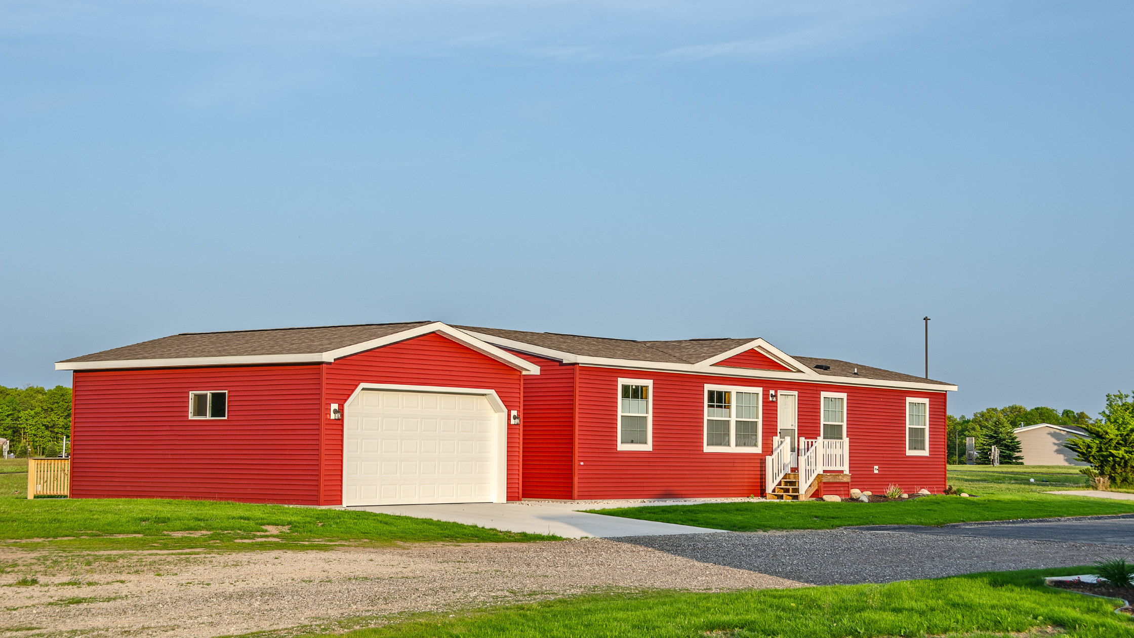 Manufactured home and land