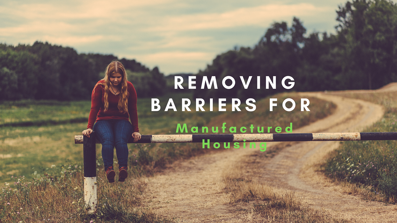 barriers for Manufactured Housing
