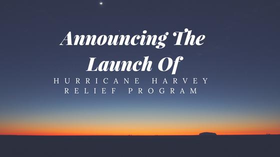 Triad Financial Services announces Hurricane Harvey Relief Program