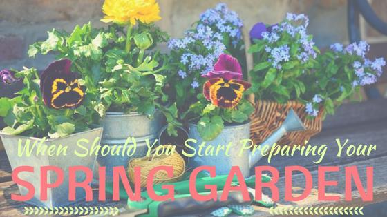 When Should You Start Preparing Your Spring Garden
