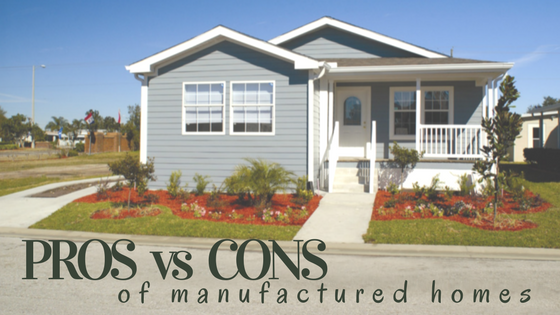 Pros and cons of manufactured homes - Manufactured vs mobile home ...