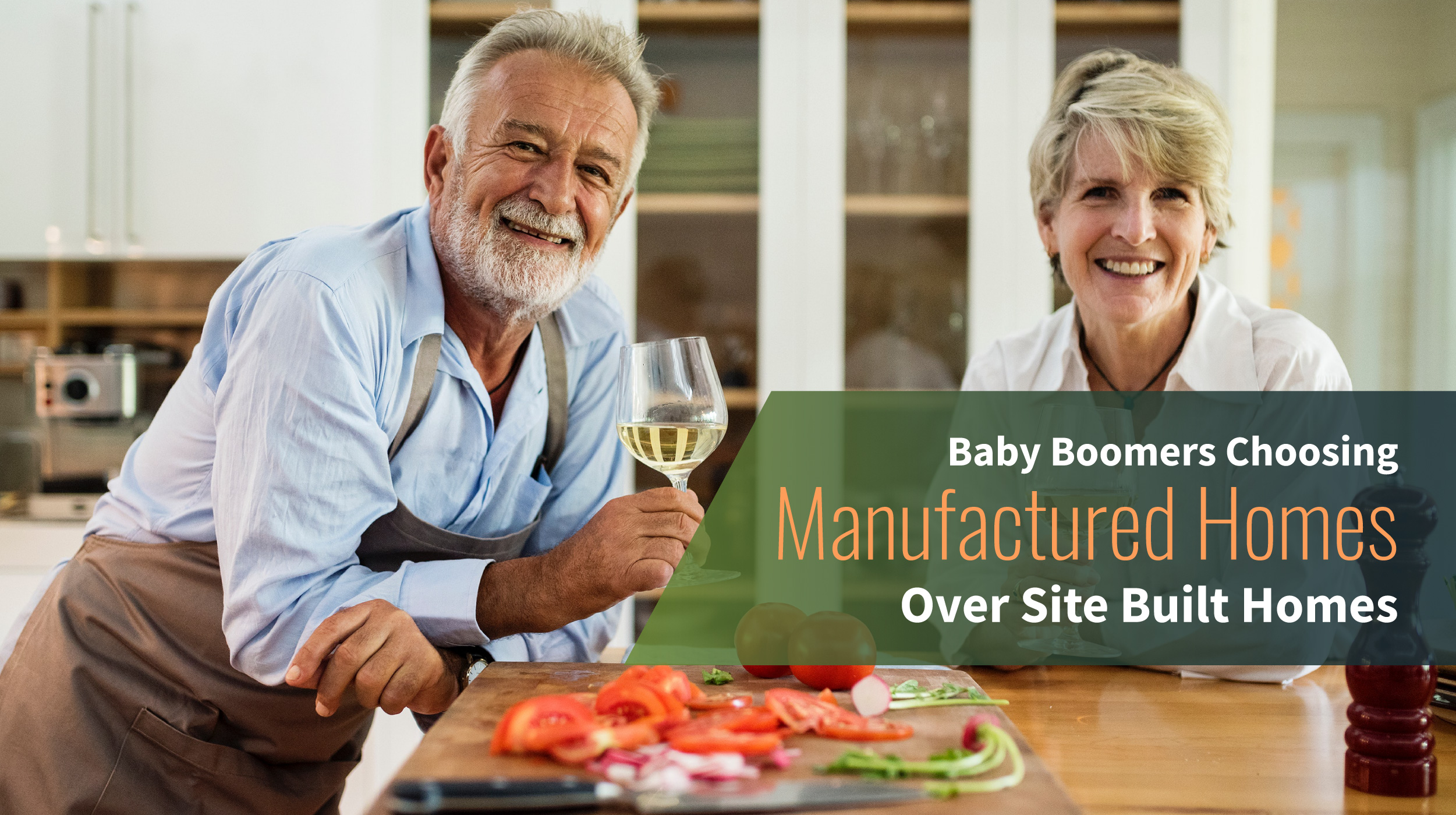 Baby Boomers Choosing Manufactured Homes Over Site Built Homes