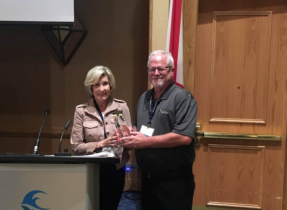 AMHA Board Member Sam Huffman Receives Special Appreciation Award at the 2019 Multi-State Convention