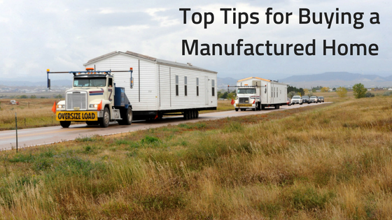 Top Tips for Buying a Manufactured Home